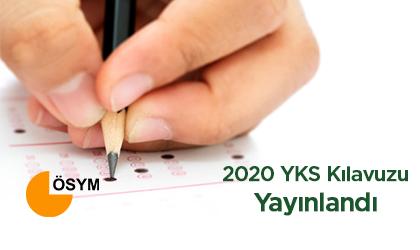 2020 YKS KILAVUZU YAYINLANDI