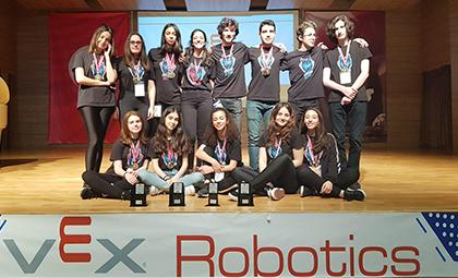 VEX ROBOTICS TURNUVASI