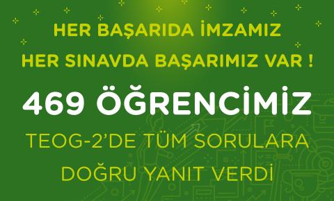 DOĞA'NIN AKADEMİK BAŞARISI SINIR TANIMIYOR! TEOG-2 DE 469 DOĞA ÖĞRENCİSİ TÜM SORULARI DOĞRU YANITLADI
