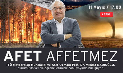 """AFET AFFETMEZ"" SUNUMUYLA PROF. DR. MİKDAT KADIOĞLU BİZLERLE"