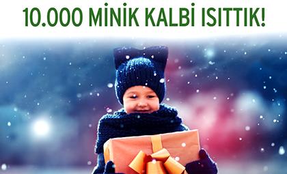 """BU YIL 3.SÜ DÜZENLENEN """"BU KIŞ BENİ SEN GİYDİR"""" PROJESİ İLE 10.000 MİNİK KALBİ ISITTIK! GURURLUYUZ!"""