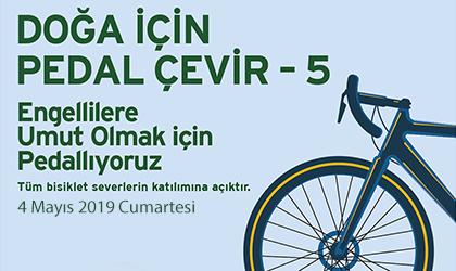 """DOĞA İÇİN PEDAL ÇEVİR"""" PROJESİ 5.YILINDA"""