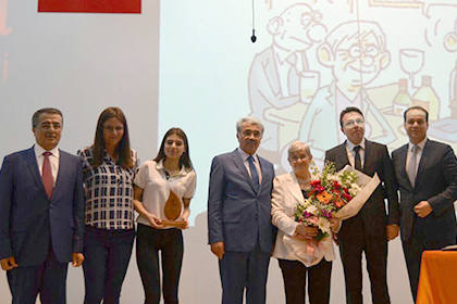 DOĞA KOLEJİ ISPARTA KAMPÜSÜ ÖĞRENCİ MECLİSİ PROF.DR. CANAN KARATAY'I KAMPÜSLERİNDE AĞIRLADI!