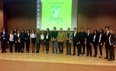 Gelenekselleşen t-MBA İş Projeleri Yarışmasının finali,  Çekmeköy Doğa Koleji nde gerçekleştirildi.