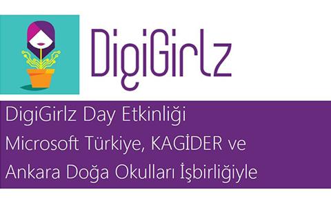 """""""DIGIGIRLZ DAY"""" ETKİNLİĞİ BAŞLIYOR!"""
