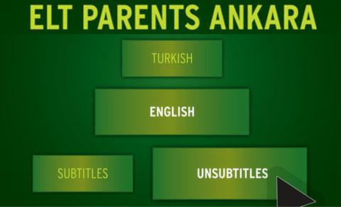 ELT PARENTS ANKARA SEMİNERİNE DAVETLİSİNİZ!