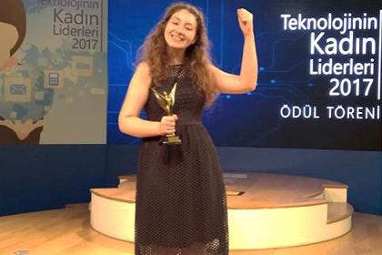 """MİCROSOFT'TAN ÖĞRENCİMİZE """"GELECEĞİN TEKNOLOJİ YILDIZI"""" ÖDÜLÜ!"""
