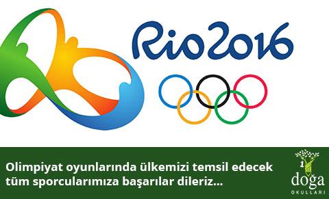 RIO 2016 OLİMPİYAT OYUNLARI'NDA BAŞARIYA KOŞACAKLAR!