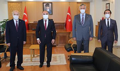 İTÜ REKTÖRÜ PROF. DR. MEHMET KARACA'DAN, DOĞA KOLEJİ KAYSERİ KAMPÜSÜ'NE ZİYARET