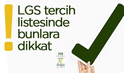 LGS Tercihlerinde Dikkat