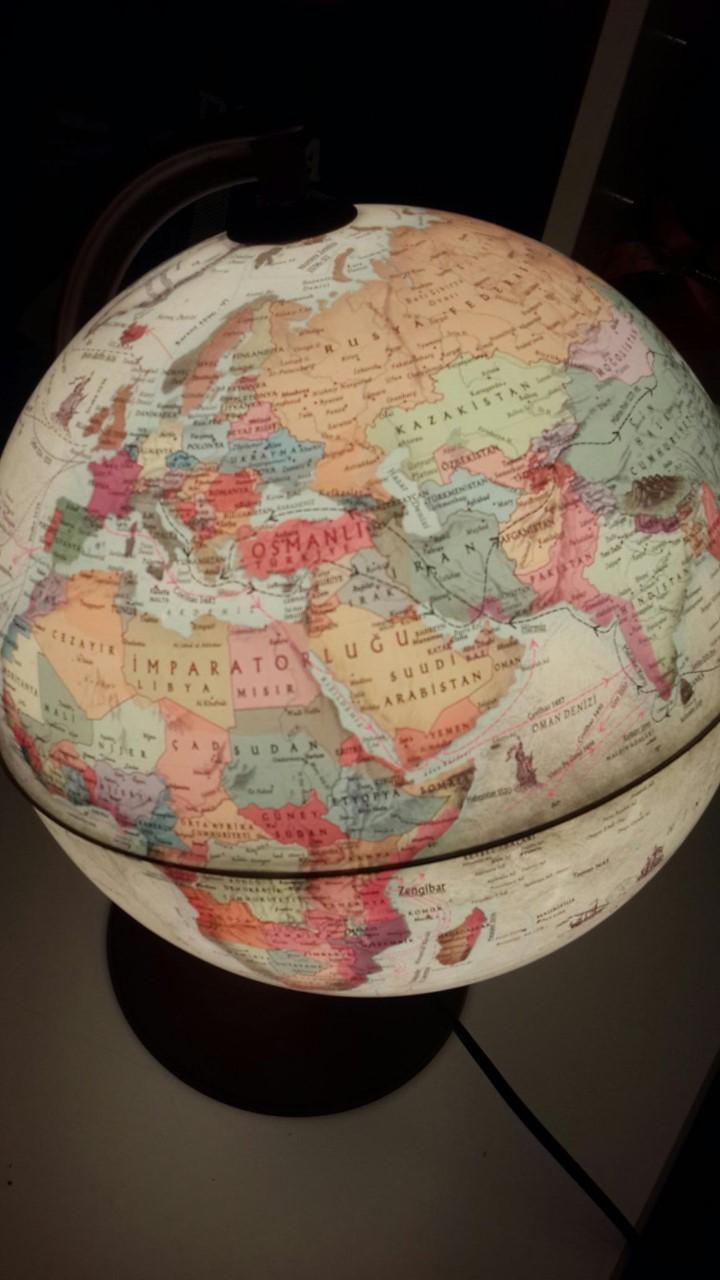dünyada yerini bulma