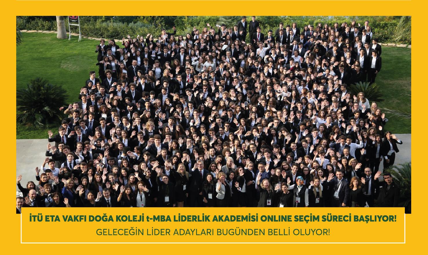 """""""t-MBA LİDERLİK AKADEMİSİ"""" ONLINE SEÇİM SÜRECİ BAŞLIYOR!"""