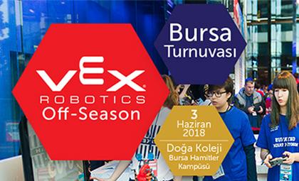 VEX ROBOTİK BURSA TURNUVASI, 3 HAZİRAN