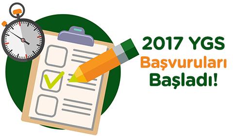 2017 YGS BAŞVURULARI BAŞLADI!